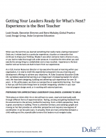 Getting your leaders ready for what's next?
