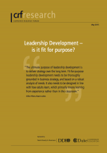 Leadership Development – is it fit for purpose?