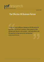The Effective HR Business Partner