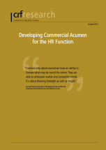 Developing Commercial Acumen for the HR Function