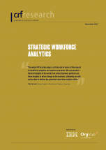 Strategic Workforce Analytics