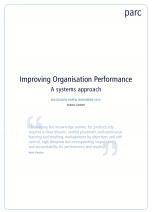 Improving Organisation Performance - A Systems Approach