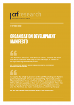 Organisation Development Manifesto
