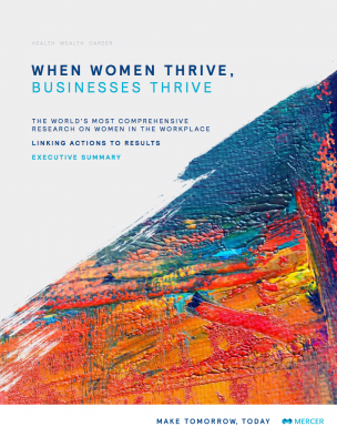 Executive Summary: When Women Thrive, Businesses Thrive