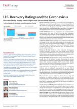 U.S. Recovery Ratings and the Coronavirus