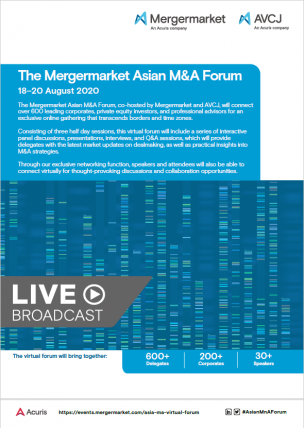 The Mergermarket Asian M&A Forum Brochure