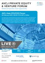 AVCJ Asia CFO/COO Forum Brochure