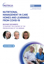 Nutritional Management in Care Homes and Learnings from Covid-19
