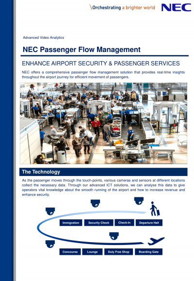 NEC Passenger Flow Management