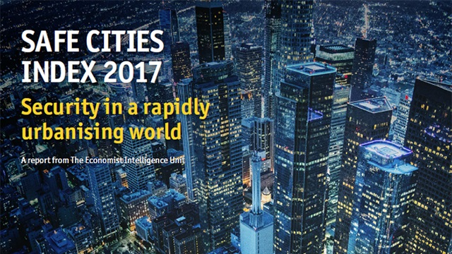 Safe Cities Index 2017: Security in a rapidly urbanising world