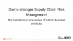 Game-changer Supply Chain Risk Management Slides