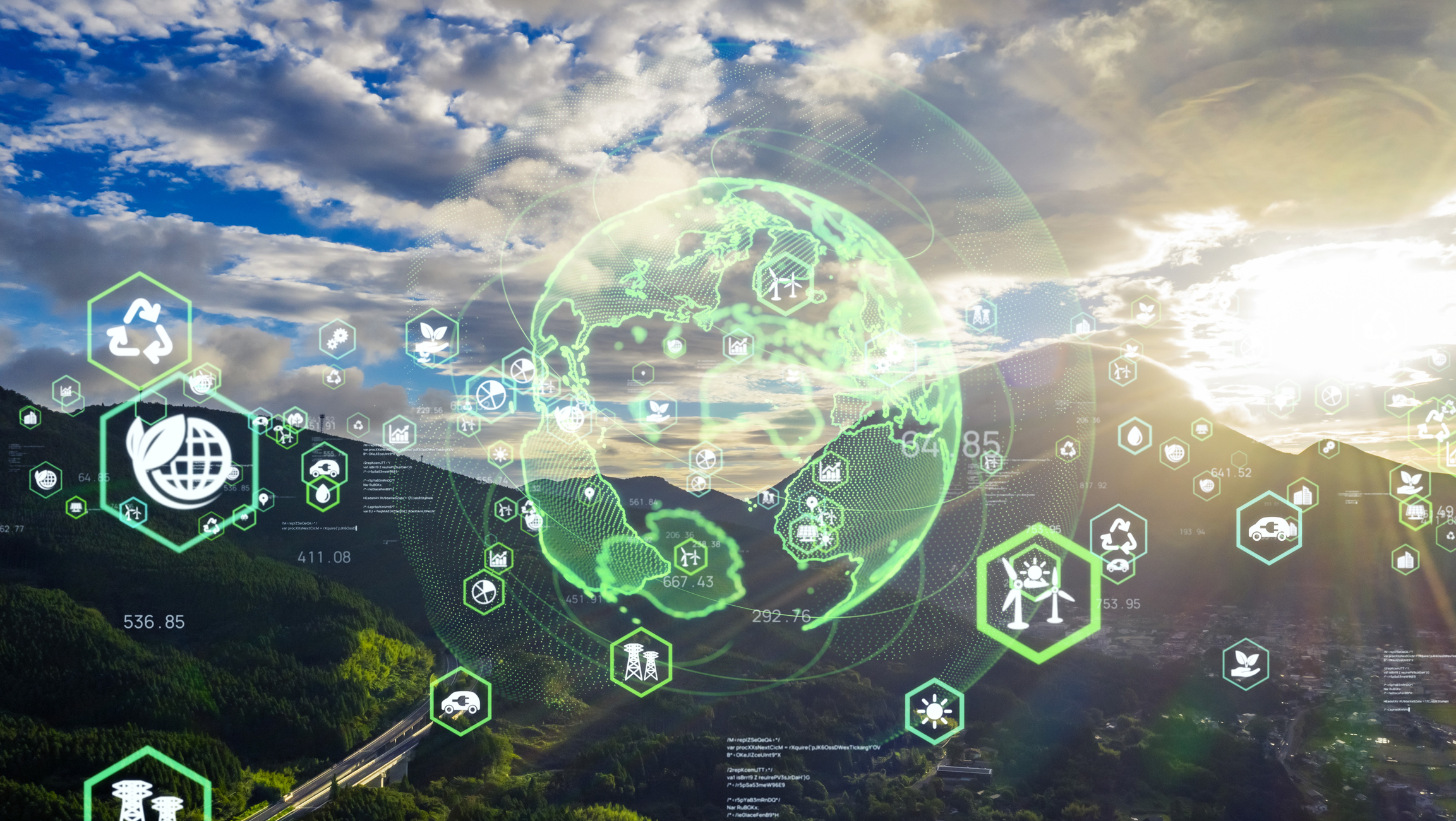 Taking charge of sustainability through the power of data