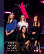 A-List 2018 - The Top 35 UK Agency Planners Under 35