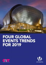 Four global events trends for 2019