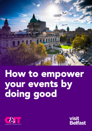 How to empower your events by doing good