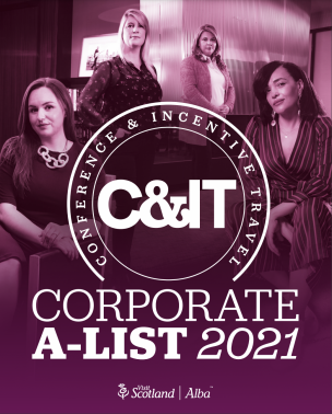 Corporate A-List 2021 - the top in-house event planners