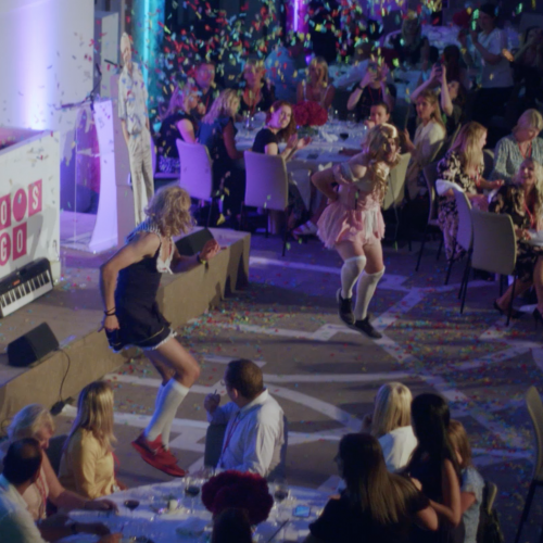 Hotel Republic showcase: The vegetarian event with cross-dressers and confetti cannons