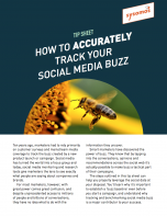 How to track your social media buzz