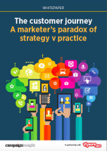 The customer journey - a marketer's paradox of strategy v practice