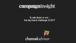 To sell direct or not – what are the key challenges for brands in 2017 - Presentation Slides