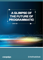 A glimpse of the future of programmatic