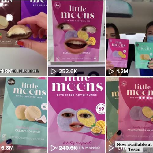 How Little Moons went viral on social media