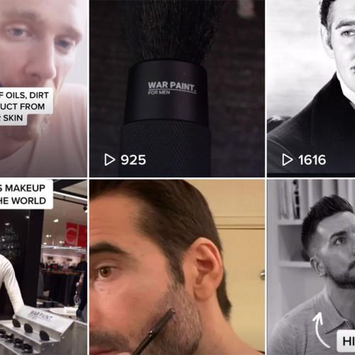 How War Paint is using TikTok to sell men's makeup