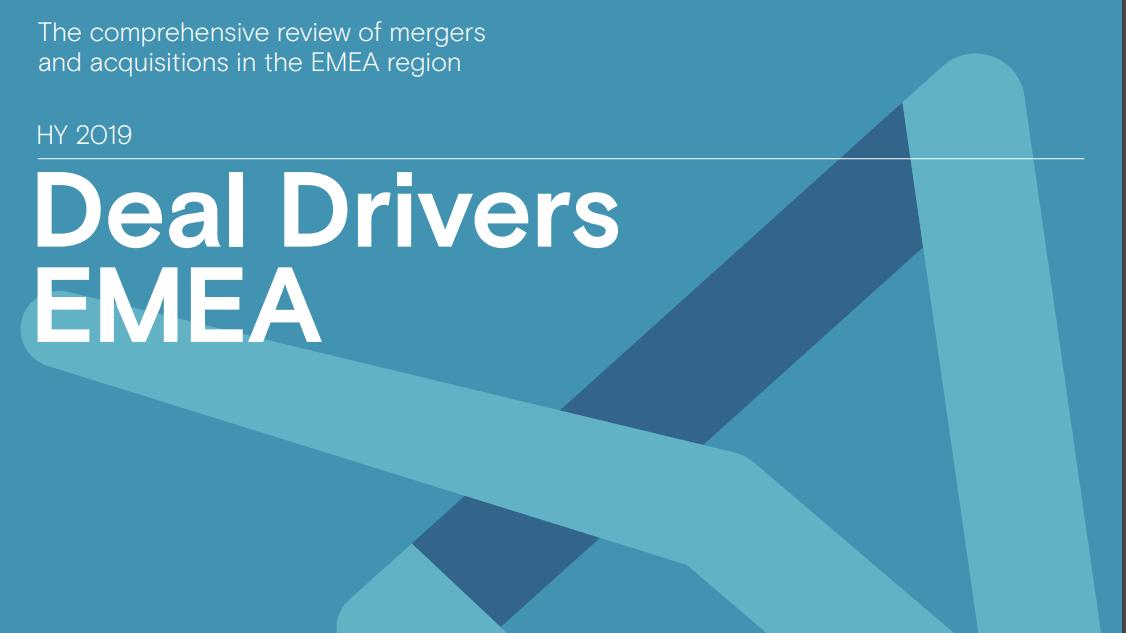 Deal Drivers EMEA 2019 Half Year
