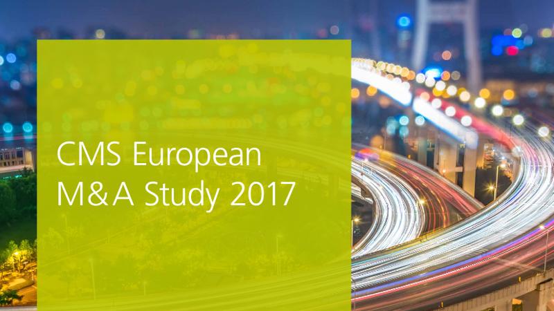 CMS European M&A Study 2017