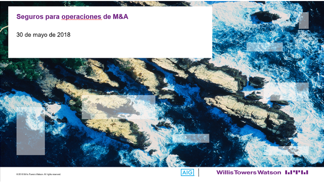 Insurance for M&A Operations