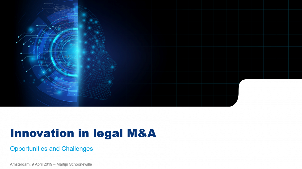 Innovation in Legal M&A