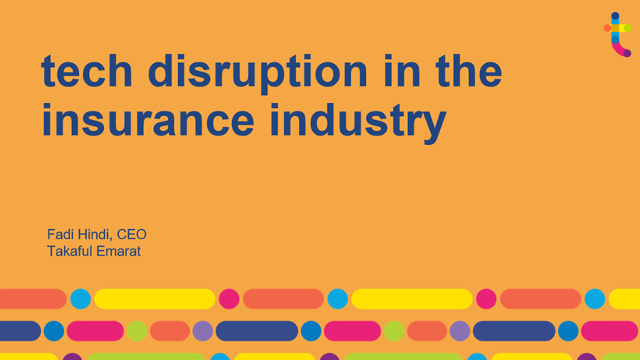Tech disruption in the insurance industry presentation