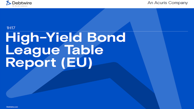 High Yield Bond League Table Report