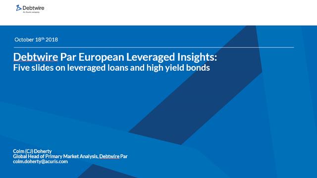 Debtwire Par European Leveraged Insights: Five slides on leveraged loans and high yield bonds