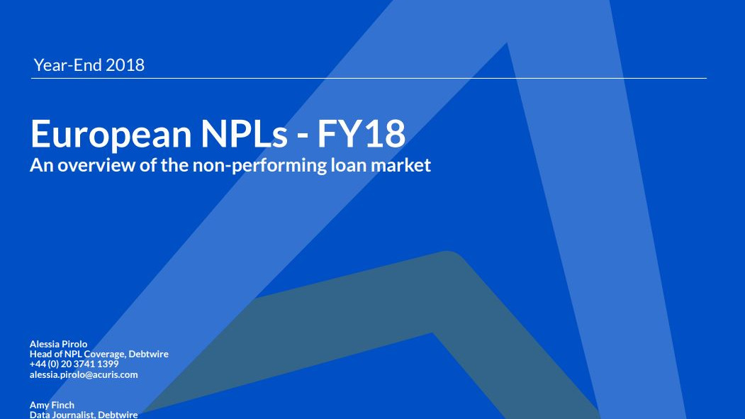 Download: European NPLs FY18 Report