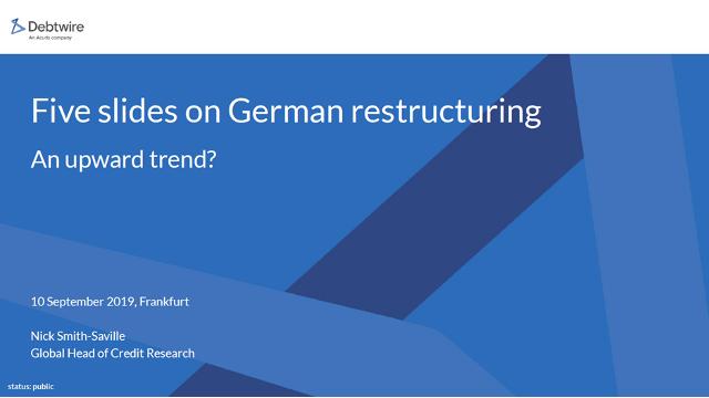 Five slides on German Restructuring