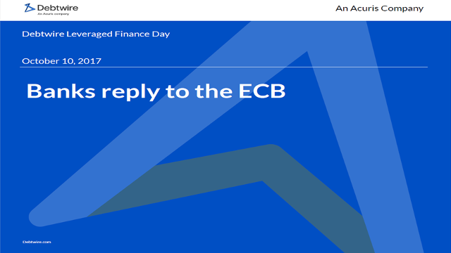 Banks reply to the ECB Presentation