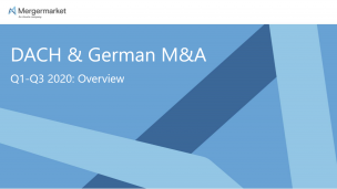 Mergermarket - DACH M&A and Private Equity Data Trends