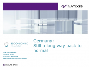 Germany: Still a long way back to normal