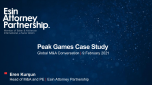 Deal case study: Zynga's acquisition of Peak