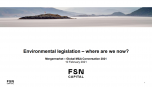 Environmental Legislation - FSN Capital