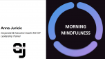 Morning mindfulness with Anna Juricic