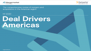Deal Drivers Americas HY 2020