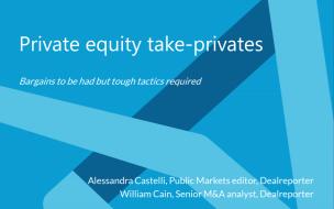 Private equity take-privates
