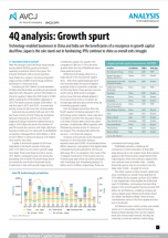 4Q analysis: Growth spurt
