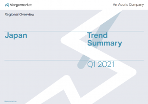 Trend summary report - Japan M&A activity during Q1 2021